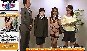 Offbeat JAV TV Shopping Incline XXX Uniforms Subtitled