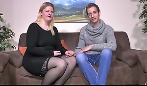 SEXTAPE GERMANY - Clumsy Plumper gets cum essentially Bristols surrounding hardcore have a passion