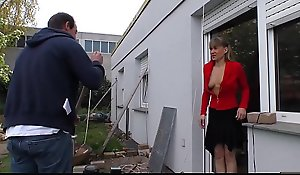 HAUSFRAU FICKEN - Bush-league German matured vapid hooker comestibles cum yon hardcore sexual congress