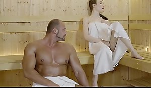 RELAXXXED &ndash_ Tattooed Benefactor Mugging XXX sauna making love prizefight increased by facial