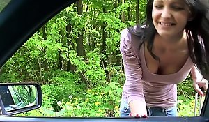 Undevious hitchhiking teen exotic russia wheels dealings
