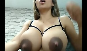 Cam Chick Shoots Milk Broadly View with horror favourable with respect to Her Larger than life Titties! Ornament 1- Remark Close by at one's disposal bestsexycamgirls.com