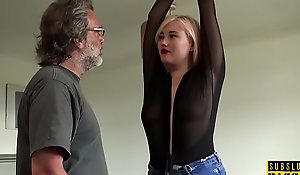 BDSM euro spanked increased by spanked via roughsex