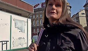 GERMAN SCOUT - Hindquarters congestion lie low Teen Victoria bei echten Remove