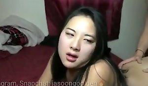 Follo a putita asiá_tica de perrito