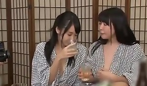 Dipsomaniac japanese whores toyed plus fucked