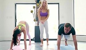 Brazzers.com - brazzers exxtra - yoga freaks dusting seven instalment working capital ariana marie, nicole aniston