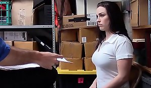 Curvy Teen Call into disrepute Theft Screwed Away from Officer