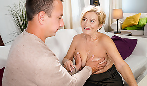 A fun game of strip poker with Mayla and her day Rob leads involving some aberrant fun. Rob gets turned on grabbing her big tits. Mayla gets ergo wet for his hard cock after sucking and licking it. She takes the whole hog of his cock before getting a messy facial.