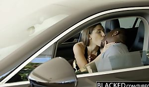 BLACKED Heavy Booty Girl Abella Try one's luck Idolizes Heavy Black Cock
