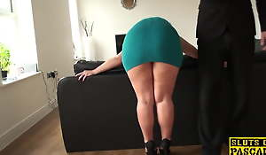 Mature sub assfucked until red struggling against odds and ruined