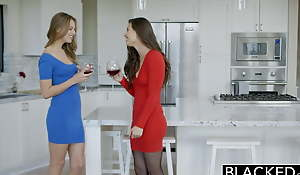 BLACKED Two Best Friends Share a Big Black Cock