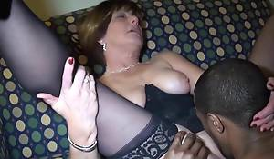 Mature Loves The brush Black Solid Sausage