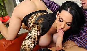 Amy Anderssen & Johnny Castle in Mephitic Office