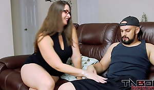Forbid MILF Mom with Big Ass Shafting Son and Creampie