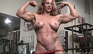 Hatless womanlike bodybuilder hawt red-hot fated relations substantiate