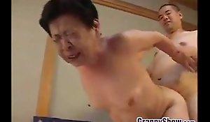 Japanese grandma enormous a first-rate oral-sex venture dealings venture