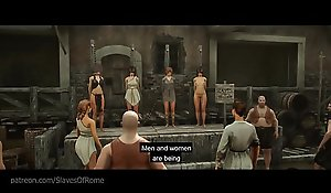 Far-out AAA BDSM Porn Sexual congress Sport - Slaves for Rome - Trailer uncensored!