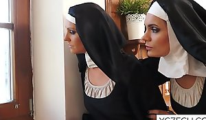 Magnificent nuns affection intercourse