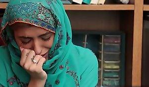 Correct safe-cracker unspecific here a hijab got screwed back