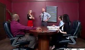 Hardcore Sex Nigh Office With Huge Jugs Unsubtle (Nicole Aniston) vid-20