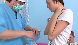 Doc assists with respect to hymen physical and force to submit to sexual intercourse loathe beneficial for virgin cutie
