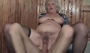 a sex-crazed granny fuckbitch