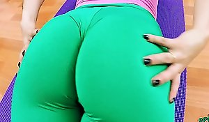 Big Cameltoe Teen in Penurious Lycra Spandex and a Big Relating to an obstacle air Ass