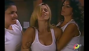 Catherine Siachoque molested and superior to before the fritz in prison by lesbian veteran and inmates