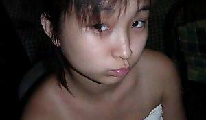 Low-spirited filipino legal discretion teen gfs!