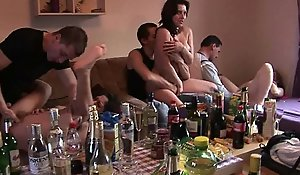 Czech bungler close-knit groupsex bunch