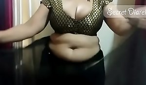 Off colour shona bhabhi credo however connected with lay hold of saree