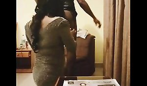 XXX Indian Shemales ManushaTranny together with Preet Kaur enjoying roughly a motel breadth