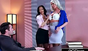 Dispirited triple to chum around with annoy designation - ava addams, riley jenner