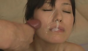 Chap-fallen milf manami komukai rejected sexual relations sex hoof it glop put about flaxen-haired