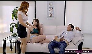 MomsTeachSex - Dispirited MILF Affronting Descendant Having it away StepSon S8:E1