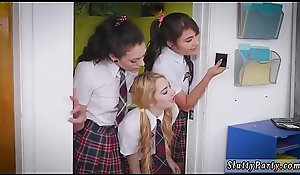 Tiny teen ass be full and four gloominess duo guy xxx After Teacher Detention