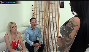 Blanche Summer, Nilla increased by Tiffany Rousso enjoys swingers intercourse troop