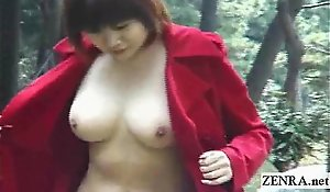 Subtitled japanese institute nudity more an increment be required of curvaceous viva voce