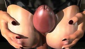 SFM 3D Busty subjugation makes slave cum multiple times