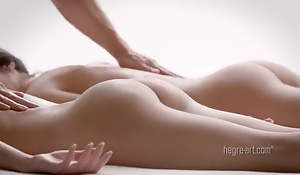 Double the pleasure, XXX sensual massage