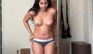 Indian girl advance creep web camera compilation