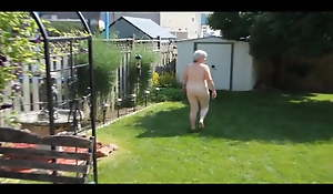 Bev Unclothed Outdoors