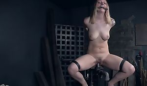 Tattooed capacity for seating play fro natural breasts getting abused