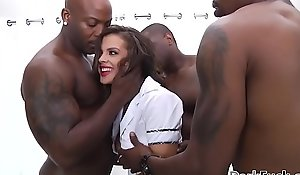 Crooked brute 10-Pounder anal crew be hung up on - keisha grey