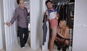 Grown stepmom some eat one's fill intercourse