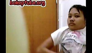 Cute Indonesian Legal age teenage Got Spy Cam