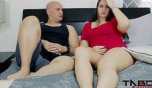 Milf madisin lee fucks stepson on touching mom's mishandle cum-hole