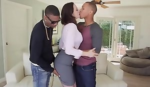 Enticing X-rated coddle chanel preston dote on burly giant shoal