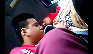 malay unspecified caressed together with tits deep throated